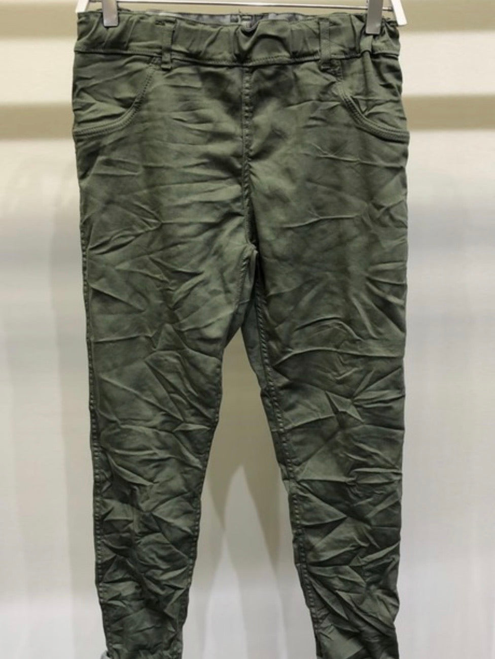 Reversible Camo Crinkled Jogger