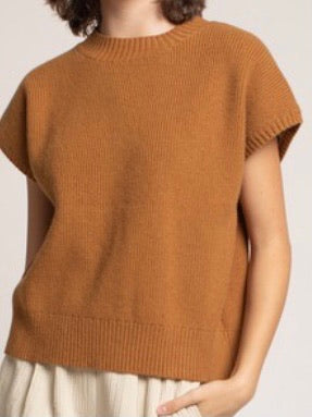 Knitted Hi Neck Top