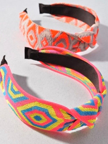 Multi Print Headbands