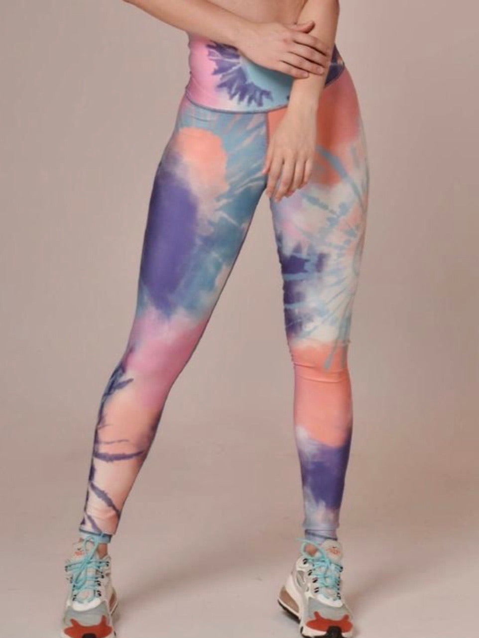 Whiteberry Flat Print Leggings