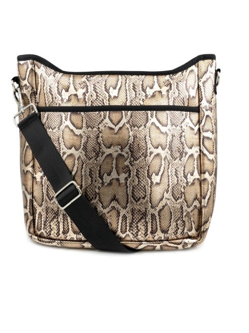 Gold Snake Neoprene Crossbody