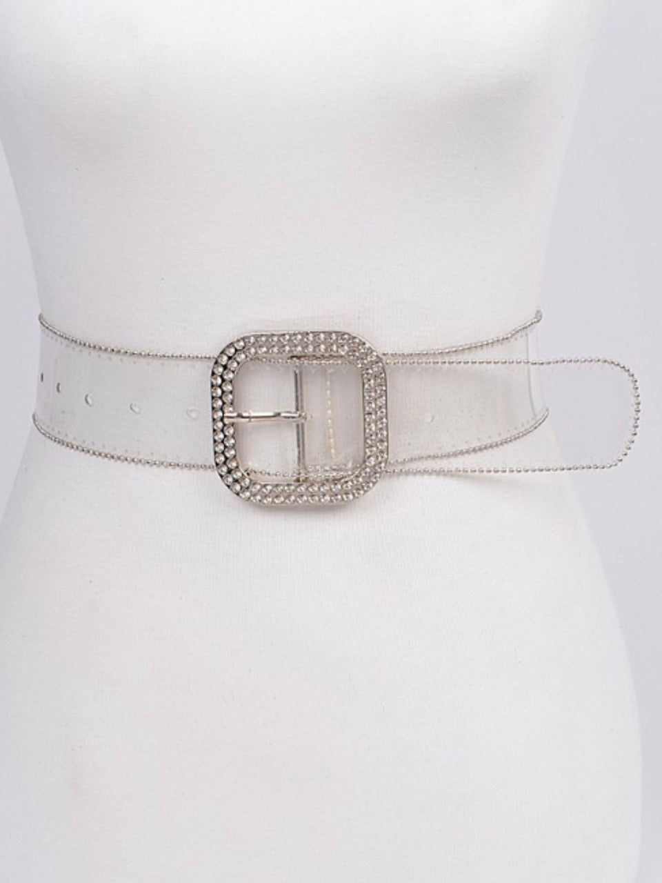 Bead Frame Clear Belt