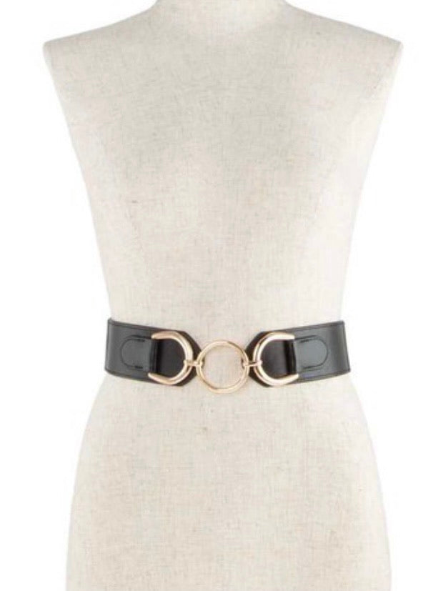 Ring Buckle Elastic Belt
