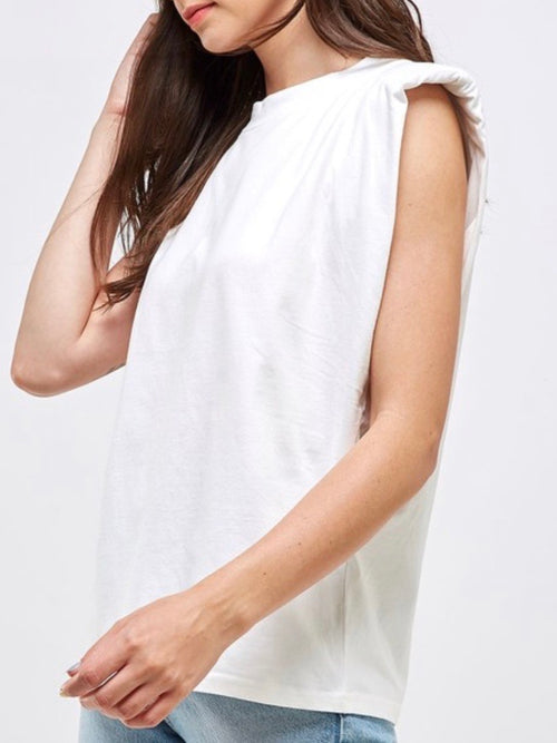 Padded Shoulder Muscle Tee