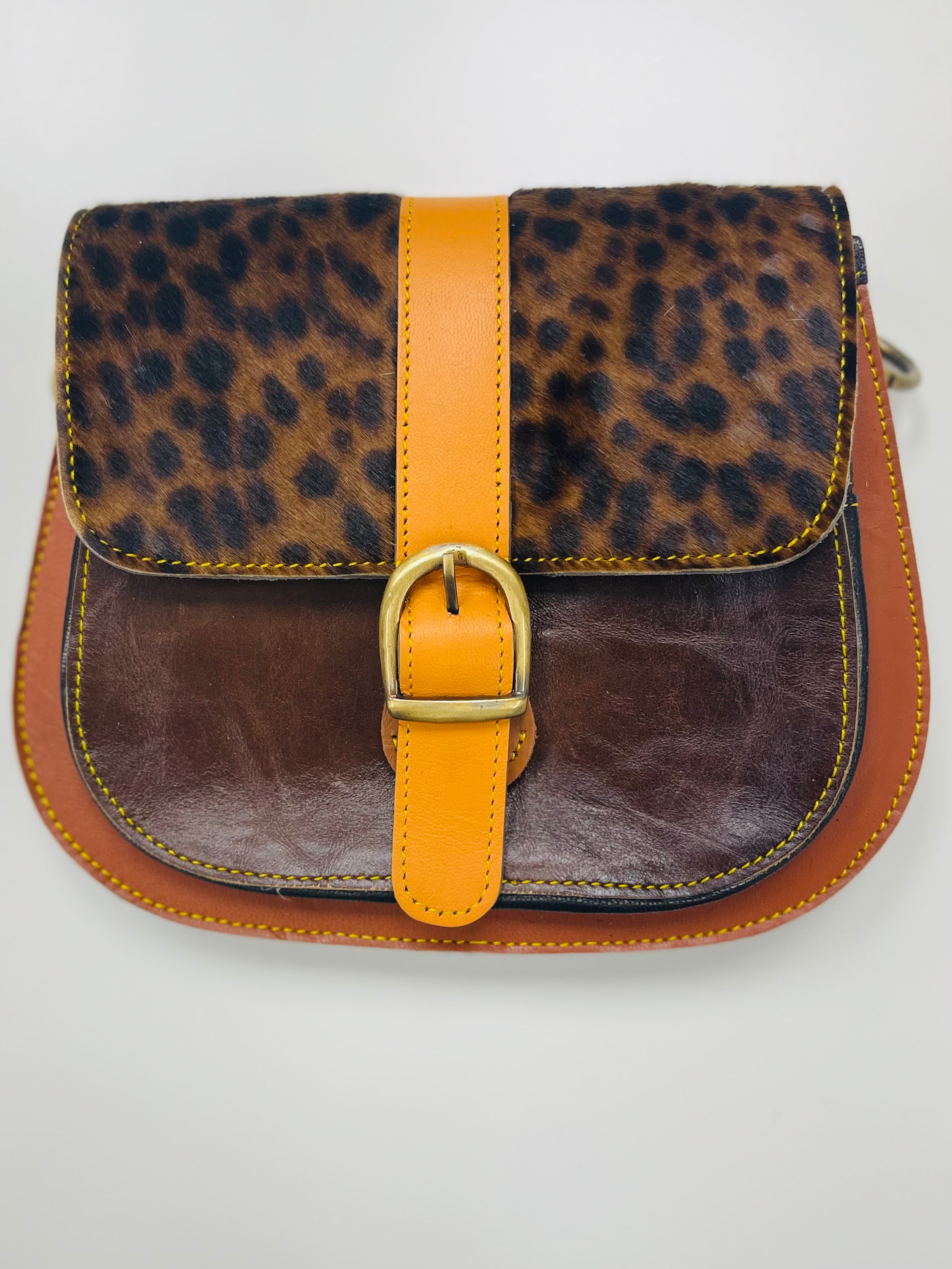 Cambrie Leather Crossbody