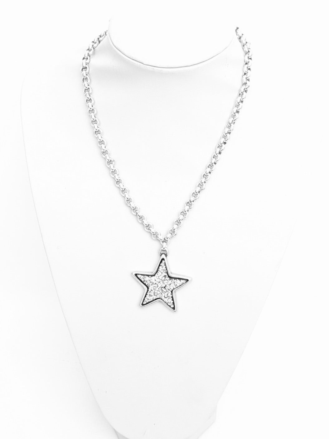 Glitter Star Necklace