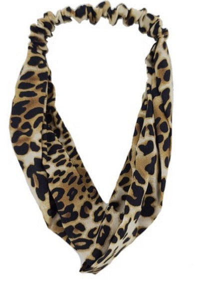 Animal Print Twisted Headband