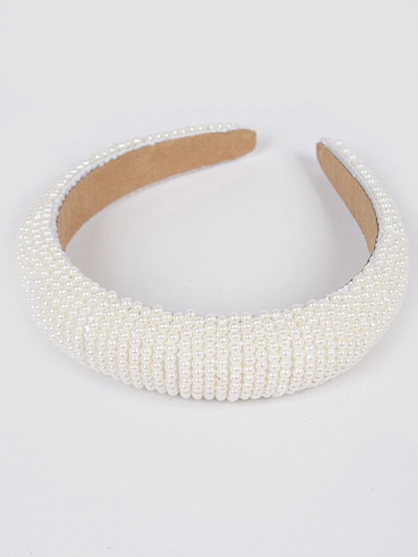 Embellished Pearl Headband
