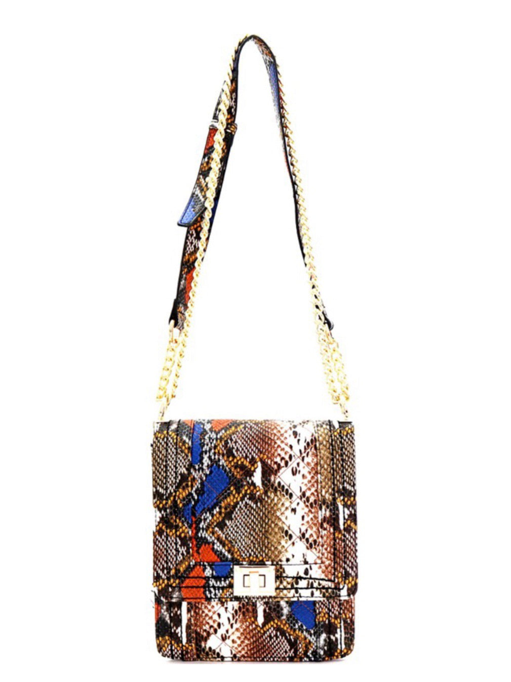 Snakeprint Crossbody