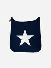 Navy Star Neoporene Messenger Bag