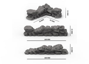 Forge Prints Modular Stone Wall Kit