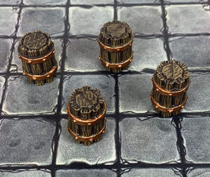 Forge Prints Unpainted Barrel Set