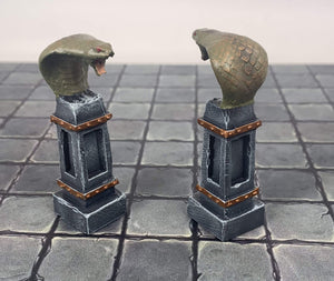 Forge Prints Unpainted Cobra Pillar Set