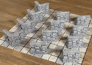 Galladoria Games Burial Chamber Wall Pack