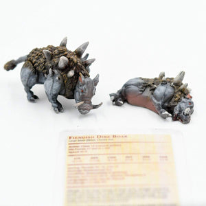 Galladoria Games Fiendish Dire Boar