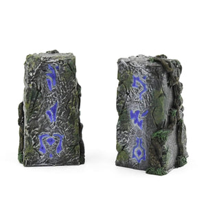 Galladoria Games Hand Painted / Blue Runic Standing Stones