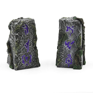Galladoria Games Hand Painted / Purple Runic Standing Stones