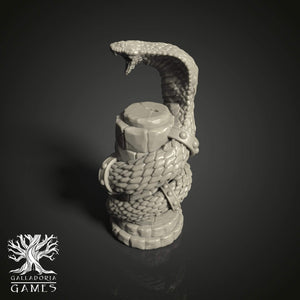 Galladoria Games Snake Pillar STL