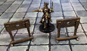 Galladoria Games Unpainted Stockade Set