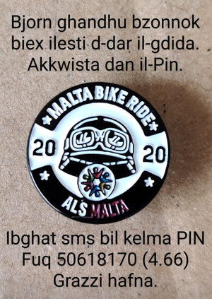 Malta Bike Ride 2020 Pin