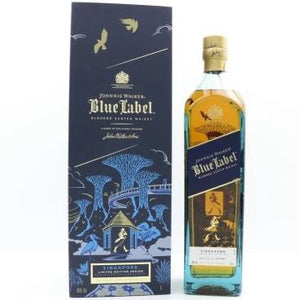 Johnnie Walker Blue Label Singapore 1L Limited Edition