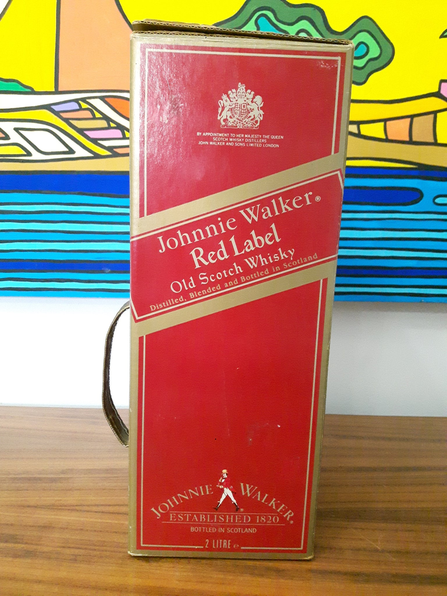 Johnnie Walker Red Label 2 Litre 1990s