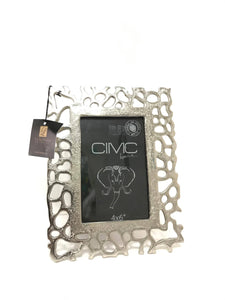 Matt Silver Photo Frame