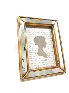 Mirrored Bronze Photo Frame