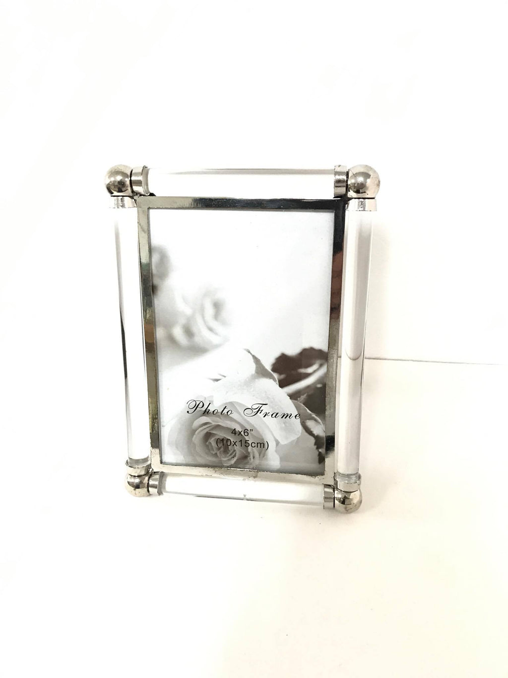 Glass & Silver Photo Frame