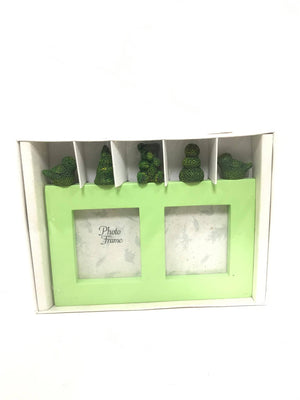 Green Photo Frame by Two