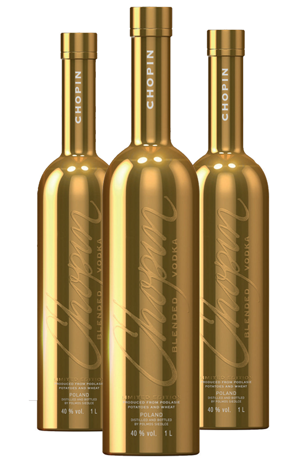 CHOPIN BLENDED VODKA LIMITED EDITION GOLD