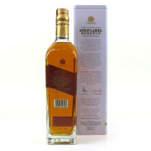 Johnnie Walker Gold Label Pawel Nolbert Limited Edition with Tin