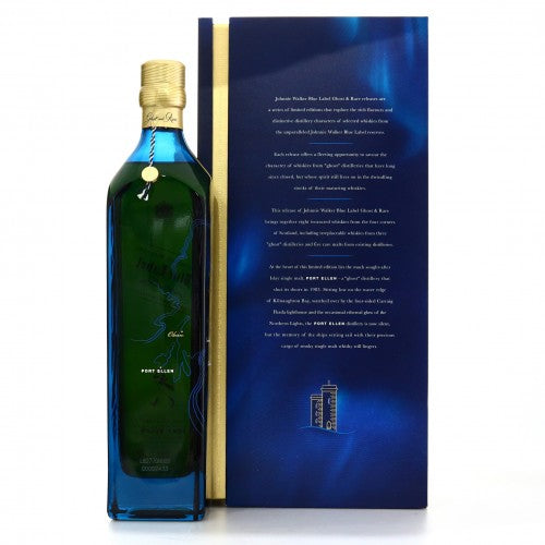 Johnnie Walker Blue Label Ghost and Rare 2nd Edition / Port Ellen