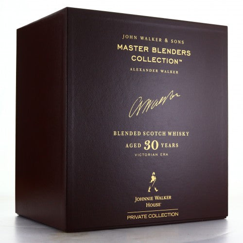 John Walker and Sons 30 Year Old Master Blenders Collection / Victorian Era