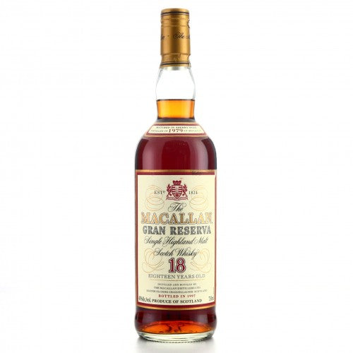 Macallan 1979 Gran Reserva 18 Year Old Richard Gooding Collection