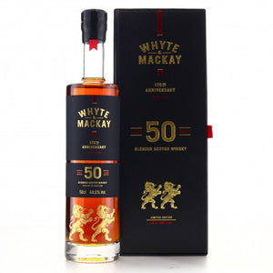 Whyte and Mackay 50 Year Old 50cl/ 175th Anniversary