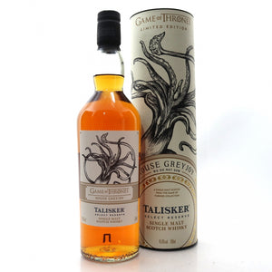Talisker Select Reserve Game of Thrones House Greyjoy