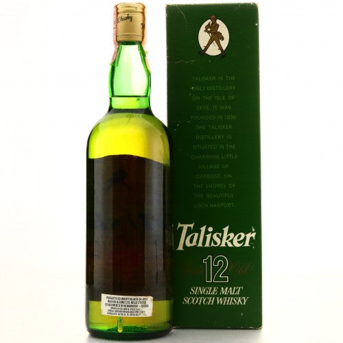Talisker 12 Year Old John Walker and Sons 1980s