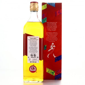 Johnnie Walker Red Label Limited Edition / Paisley for 2021 UK City of Culture 70cl