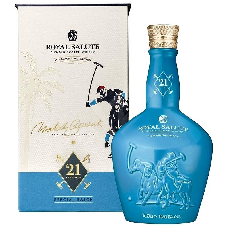 CHIVAS REGAL ROYAL SALUTE POLO EDITION WHISKEY 0.7L