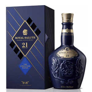 CHIVAS REGAL 21 YEARS BLUE ROYAL SALUTE 70CL