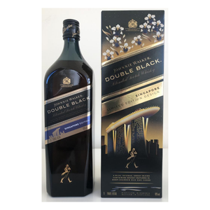 Johnnie Walker Double Black Label Singapore Edition 1 Litre