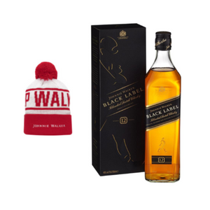 Johnnie Walker Black Label Bobble Hat Set