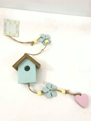 Bird house chime