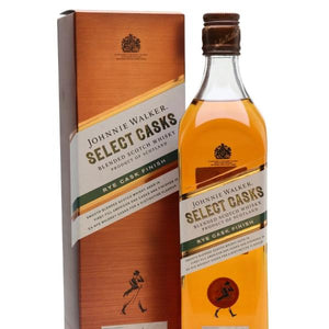 JOHNNIE WALKER SELECT CASKS 10 YEAR OLD RYE CASK FINISH 1L