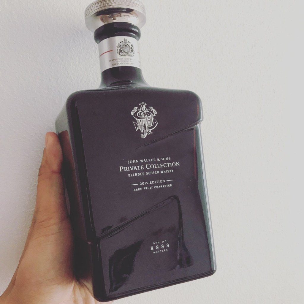 JOHN WALKER & SONS PRIVATE COLLECTION 2015 EDITION