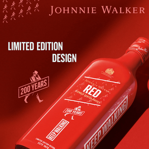 JOHNNIE WALKER RED LABEL 200TH ANNIVERSARY ICON EDITION WHISKEY 0.7L