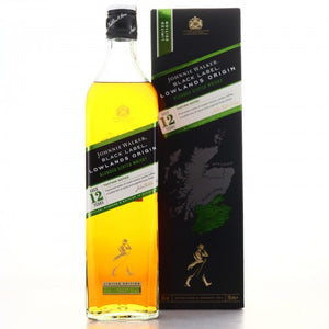 Johnnie Walker Black Label 12 Year Old Lowlands Origin 1L