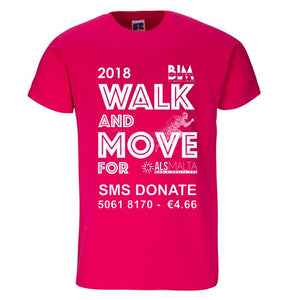 ALS Walk and Move Short Sleeve T-Shirt
