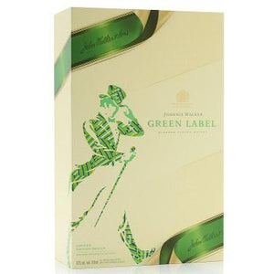 JOHNNIE WALKER GREEN LABEL LIMITED EDITION GIFTSET 2 Glasses 70CL
